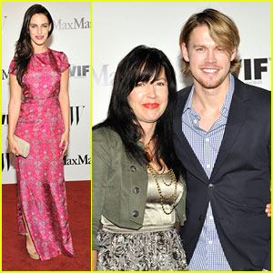Jessica Lowndes & Chord Overstreet: Women In Film Max Mara Face of the Future Awards 2013