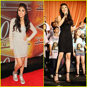 Jessica Sanchez: 40/40 Anniversary Party After TrevorLive Performance