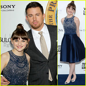 Joey King Premieres 'White House Down' in NYC!