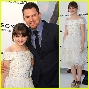Joey King: 'White House Down' Premiere!