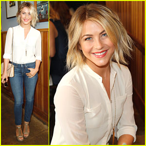 Julianne Hough Supports Baby2Baby