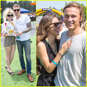 Kelsey Chow & William Moseley: Just Jared's Summer Kickoff Party with Renee Olstead