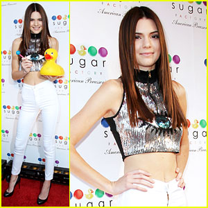 Kendall Jenner: Sugar Factory Grand Opening Party