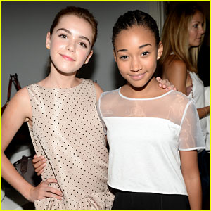 Kiernan Shipka: Elizabeth & James Launch with Amandla Stenberg!