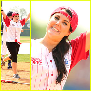 Kree Harrison: City of Hope Celebrity Softball Game 2013