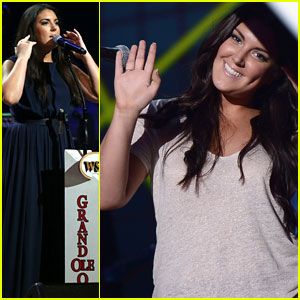 Kree Harrison: CMT Rehearsals Before Grand Ole Opry Performance