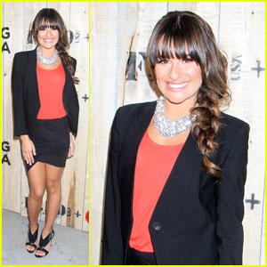 Lea Michele: Feed USA & Target VIP Event Hostess!