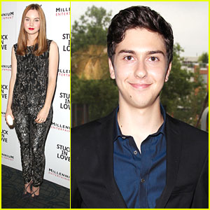 Nat Wolff & Liana Liberato: 'Stuck In Love' NYC Premiere