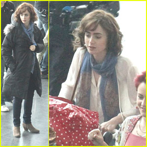 Lily Collins: Short Hair for 'Love, Rosie'!