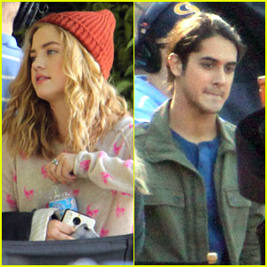 Maddie Hasson: 'Twisted' Set with Avan Jogia