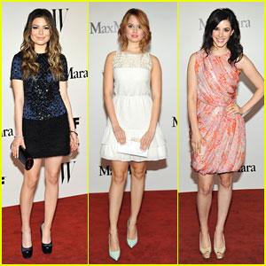 Miranda Cosgrove & Debby Ryan: Women In Film Max Mara Face of the Future Awards 2013
