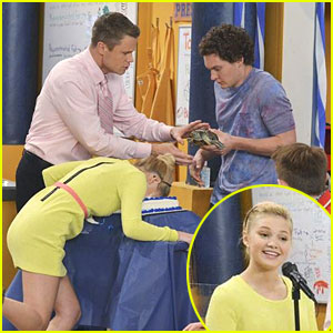 Olivia Holt: Face Full of Cake on 'Kickin' It'