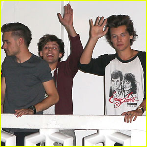 One Direction Exits Music Video Shoot in Miami