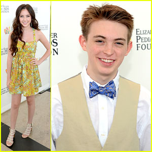 Ryan Newman & Dylan Riley Snyder: EGPAF Time For Heroes 2013