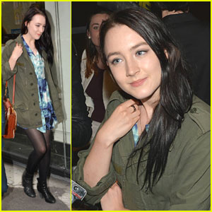 Saoirse Ronan: New Dark Hair!