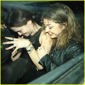 Sarah Hyland & Zoey Deutch: Night Out in London