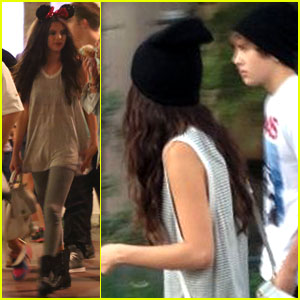 Selena Gomez & Austin Mahone: Disneyland Fun with Emblem3!
