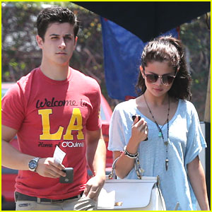 Selena Gomez & David Henrie: LA Lunch Reunion