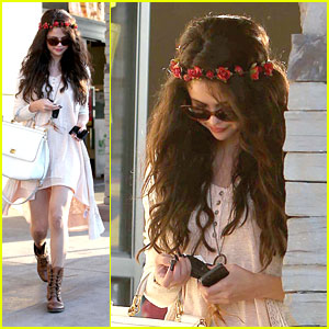Selena Gomez: Lunch After Baby Sister's Birth