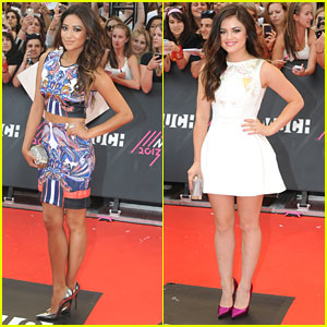 Lucy Hale & Shay Mitchell: MuchMusic Video Awards 2013