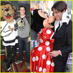 Steven R. McQueen: Kisses From Minnie Mouse at 'Lone Ranger' Premiere