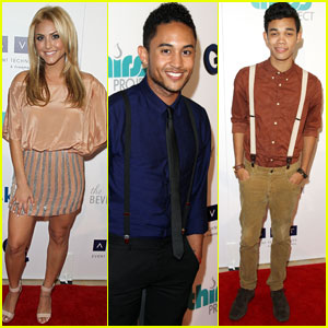 Tahj Mowry & Cassie Scerbo: Thirst Gala with Roshon Fegan