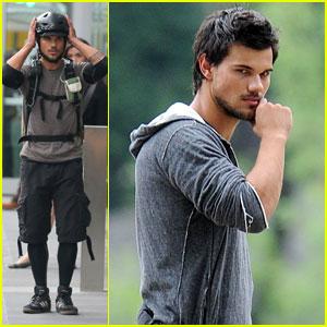 Taylor Lautner: Bench's Global Benchsetter 2013!
