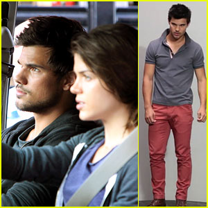 Taylor Lautner: Bench Campaign Behind the Scenes Video - Watch Now!