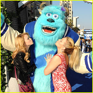 Taylor Spreitler: Kisses for Sully at 'Monsters University' Premiere