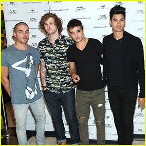 The Wanted: Fan Meet & Greet at NBC Experience Store