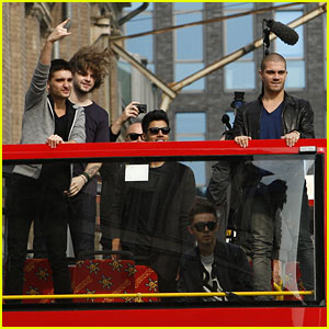 The Wanted: Sightseeing in Berlin with Fans!