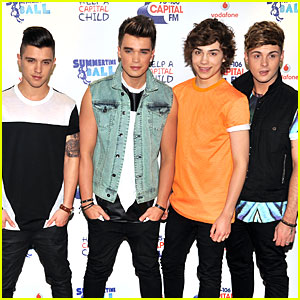 Union J: Capital FM Summertime Ball 2013