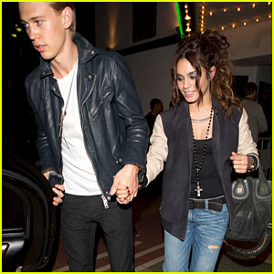Vanessa Hudgens & Austin Butler: MySpace Party Exit