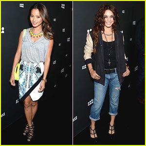 Vanessa Hudgens & Jamie Chung: MySpace Launch Ladies