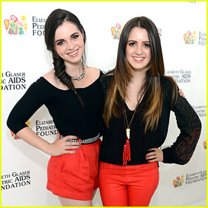 Vanessa & Laura Marano: EGPAF Time For Heroes 2013
