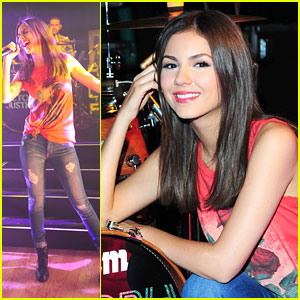 Victoria Justice: Summer Break Tour Rehearsals!