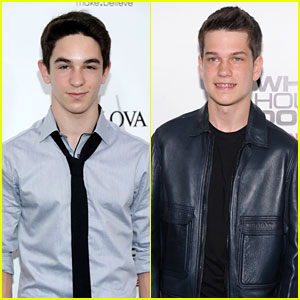 Zachary Gordon & Liam James: 'White House Down' Premiere
