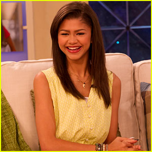 Zendaya Stops by the 'Marie Osmond Show'