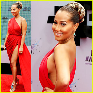 Adrienne Bailon: BET Awards 2013 Red Carpet