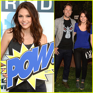 Aimee Teegarden: 'Walking Dead' Anniversary Event with Scott Porter