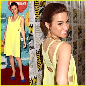 Allison Scagliotti: 'Warehouse 13' Panel at Comic-Con 2013