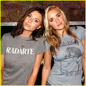 Aly & AJ Michalka: 78Violet's NYC Showcase Backstage Photos (Exclusive!)