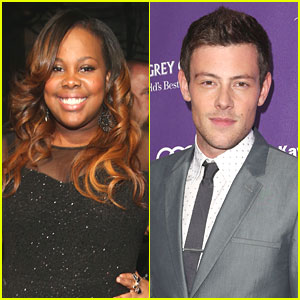 Amber Riley Opens Up on Cory Monteith's Death