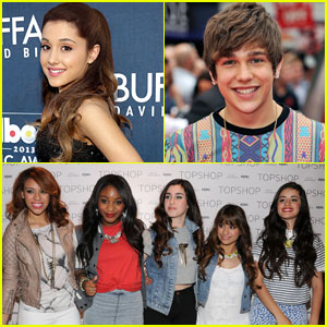 Ariana Grande & Austin Mahone To Perform at US Open Arthur Ashe Kids' Day