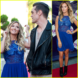 Ashley Tisdale Attends The Hub's TCA Press Event