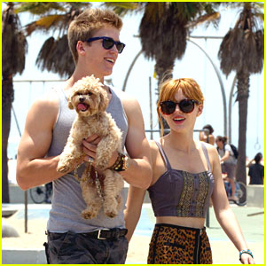 Bella Thorne Hits Beach After 'Blended' Movie Wrap