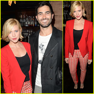 Brittany Snow & Tyler Hoechlin: Beyonce Concert Couple!