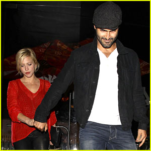 Brittany Snow & Tyler Hoechlin: Katsuya Couple!