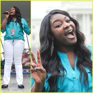 Candice Glover: Capitol Fourth Independence Day Concert Rehearsals