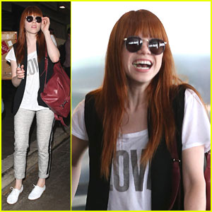 Carly Rae Jepsen: LAX Arrival After Unsuccessful Tampa Bay Pitch